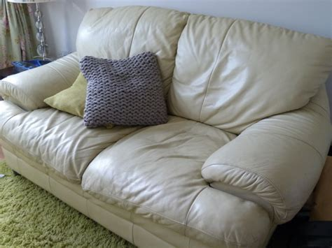 cream leather sofa for sale cream leather 2 seater sofa for sale in clones monaghan