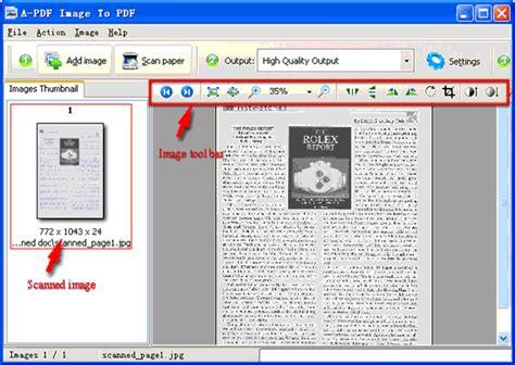 scan program hp scan pdf scanner software a pdf