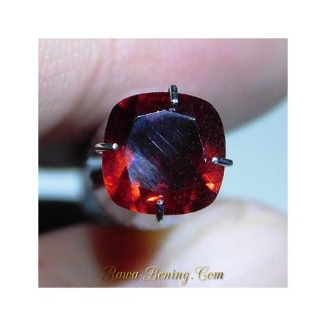 Batu Garnet Merah Kotak jual batu permata garnet merah kotak 1 49 carat top