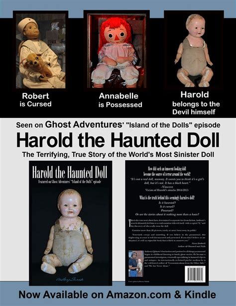 annabelle doll hoax haunted harold the terrifying true story of a child s