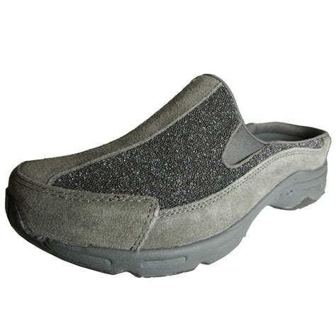 womens mule sneakers easy spirit womens racings slip on mule shoe ebay