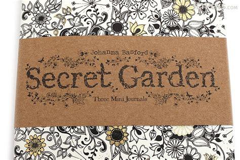 secret garden coloring book usa laurence king secret garden three mini journals