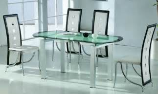Glass Dining Room Tables All Glass Dining Room Table Marceladick