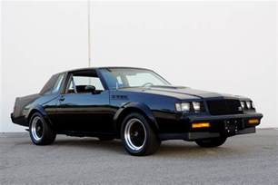 Buick Grand National 87 1987 Buick Grand National Gnx 189534