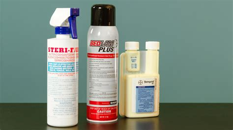 how to use bed bug sprays bed bug