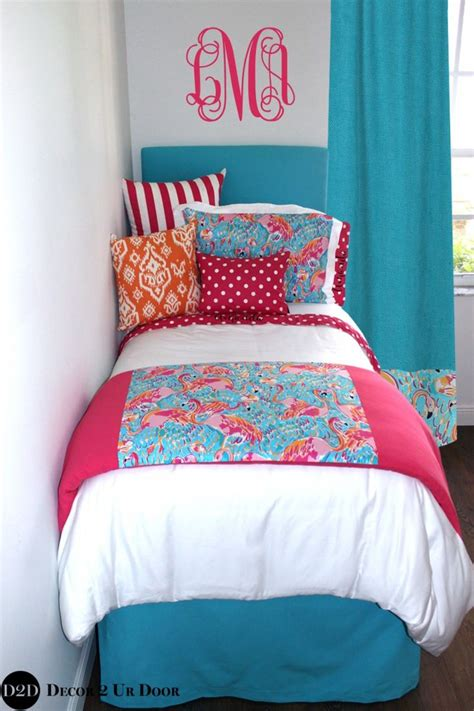 bedroom lilly pulitzer bedding  perfect preppy girls bedroom decor jeanettejamescom