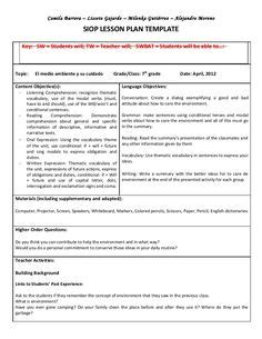 danielson framework lesson plan template sufficient photoshots