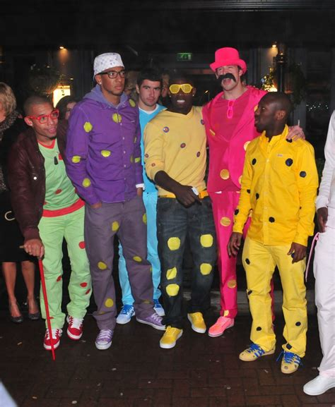 Yolla Dress Green Balotelly Sy manchester city join the spots for fancy dress photos who ate all the pies