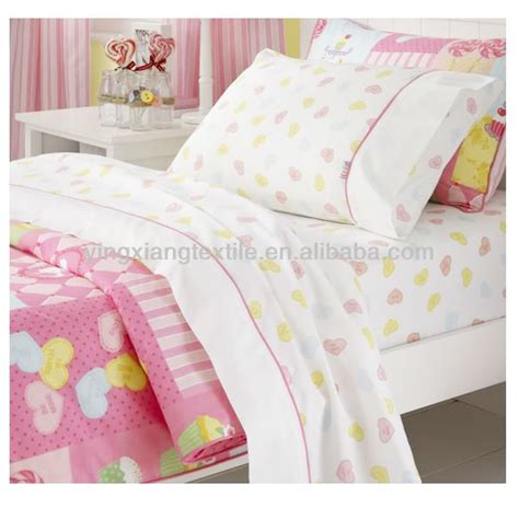 bed sheet fabric 100 cotton32x32 130x70 2 1 twill printed fabric for bed