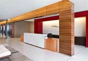 Modern Front Desk Modern Office Reception Space Design The Architect S Slate