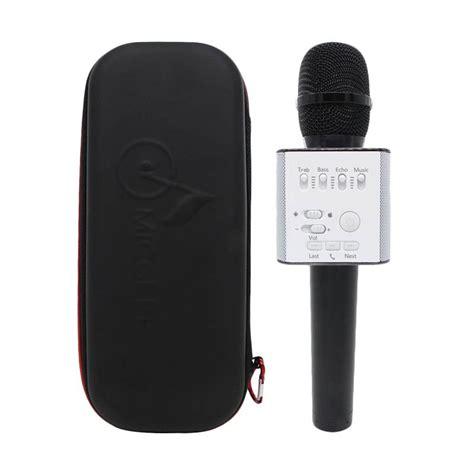 Baru Mic Ktv Bluetooth Q9 Portable Wireless Microphone Speaker Karaoke jual visi asia q9 wireless handheld ktv portable bluetooth