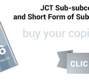 jct design and build contract 2005 edition jct network the joint contracts tribunal