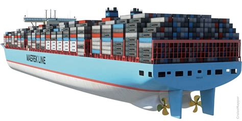 biggest roro vessel in the world list of world s largest container ships cruisemapper