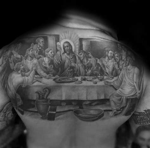 50 superior de la espalda tatuajes para los hombres