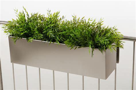Bambus Im Balkonkasten by Balkonkasten Blumenkasten Edelstahl Quot Binox Quot Geb 252 Rstet