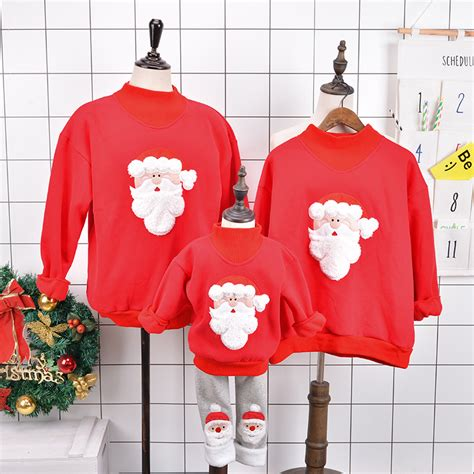 Hoodie Sweater Hardwell On Air Fashion Family 1 family matching 2017 winter sweater deer children clothing kid t shirt