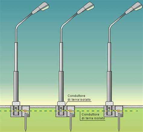 illuminazione stradale normativa messa a terra pali illuminazione pubblica lioni 2d