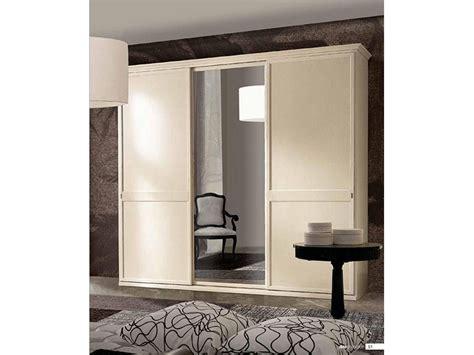 armadi san michele armadio classico ante scorrevoli con specchio centrale