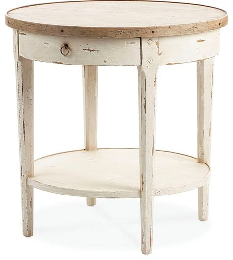 Farmhouse Side Table by Century Furniture End Table Farmhouse