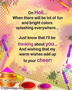 warm holi wishes free specials ecards greeting cards