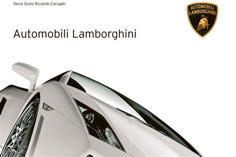 libro lamborghini lamborghini publica un libro de su historia