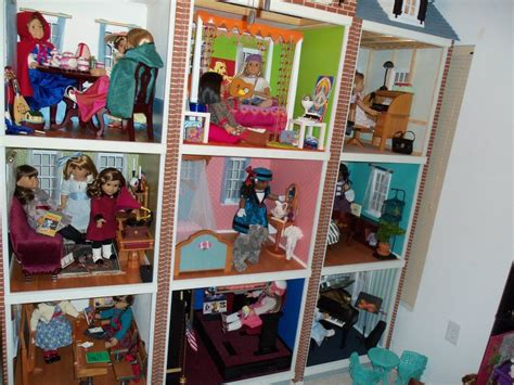 custom house dolls another amazing american girl doll house doll diaries