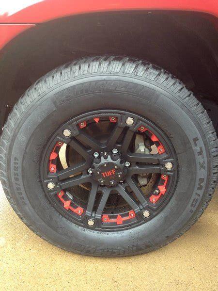 red tacoma  tuff   wheels imgjpg tacoma