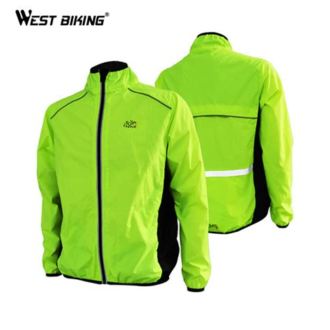 bicycle riding jackets west biking men s riding breathable reflective cycle