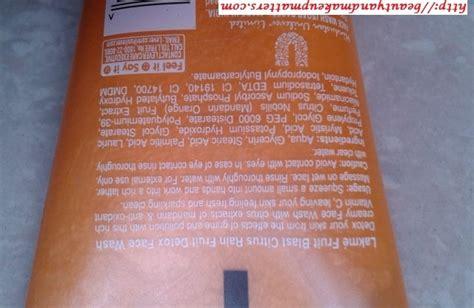 Detox Blast Price by Lakme Fruit Blast Citrus Fruit Detox Wash Review
