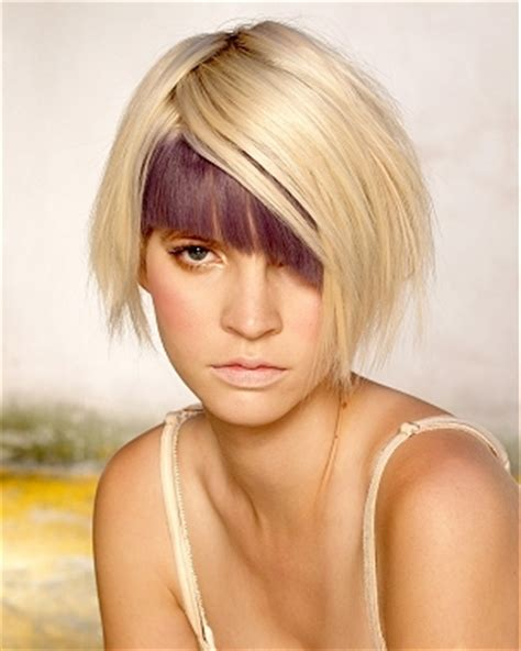 hairstyles colored bangs colored bangs hairstyles
