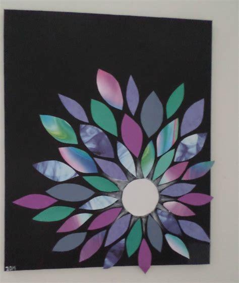 diy decoration maison diy d 233 co chambre 1 fleur sur toile