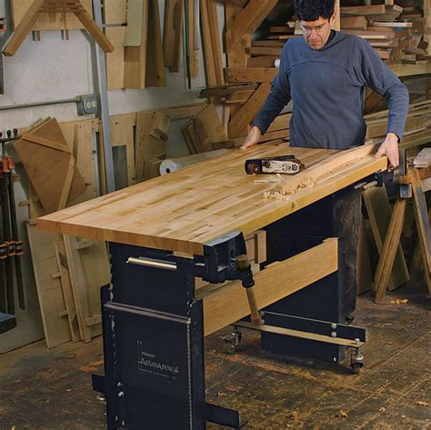 woodworking bench height proper woodworking bench height