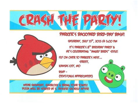 17 best images about angry birds party on pinterest