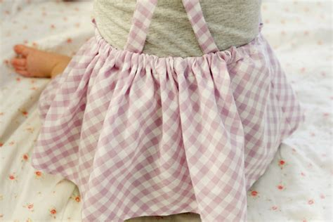 free pattern jumper dress gingham style free baby jumper dress pattern with a