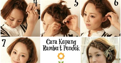 kanubeea hair clip tatanan rambut kepang yang simpel nan kanubeea hair clip tutorial cara kepang rambut pendek