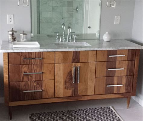 Custom Made Bathroom Vanity Handmade Custom Bathroom Vanities By Furniture By
