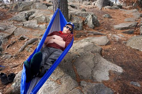 hammock instead of bed review 40 cing hammock straps included