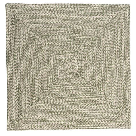 marilyn area rug home decorators collection marilyn tweed moss 4 ft x 4 ft square braided rug ca69r048x048r
