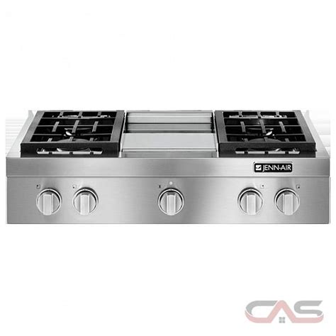 jenn air gas cooktop prices jenn air pro style jgcp536wp cooktop canada best price