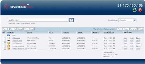 tutorial upload web di 000webhost laviola semarang cara upload file di free hosting 000webhost