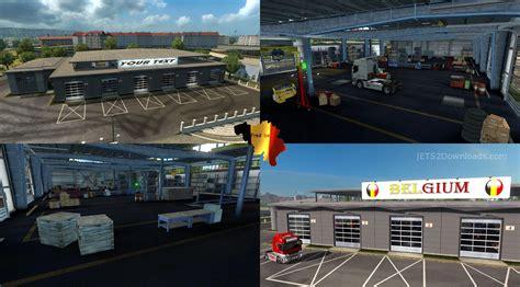large garage large garage spt service ets2 version 1 22 xx big garage v1 26 ets 2 mods ets2downloads