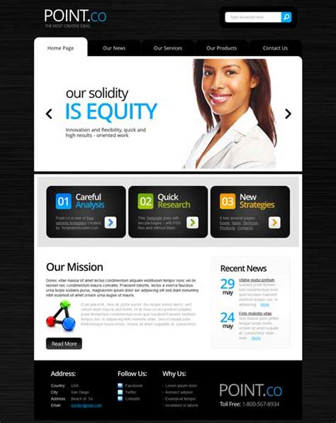 60 Best Business Consulting Website Templates Free Premium Freshdesignweb Consulting Website Template