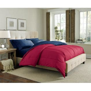 red and black reversible comforter cannon solid reversible comforter red navy home bed