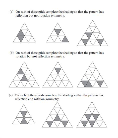 Rotational Symmetry Worksheets by Maths Rotational Symmetry Worksheets Tandrageemaths Just