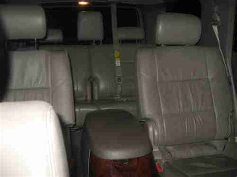 toyota sequoia limited captains chairs sell used 2007 toyota sequoia limited blizzard white