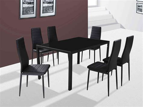 Dining Table Houston Gfw The Furniture Warehouse Houston 6 Chair Dining Set