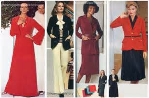 Vintage fashion clothing and accessories from the 1970s with