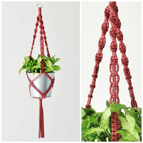 Hanging Macrame Planter by Macrame Plant Hanger Hanging Planter Plant Hanger
