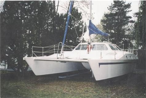 catamaran a vendre quebec kelsall design lima 32 catamaran 2004 occasion bateau 224