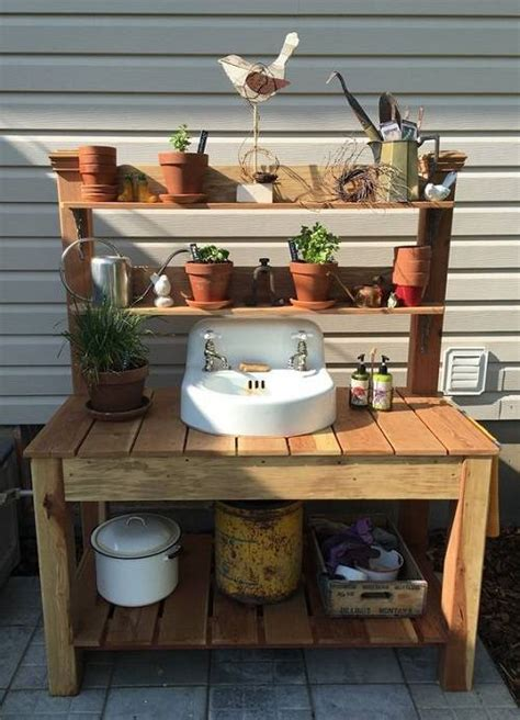 outdoor kitchen sink station pin by singing pines on